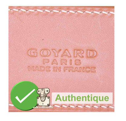 authentic goyard bag rare pink color
