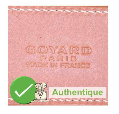 authentic goyard bag rare pink color