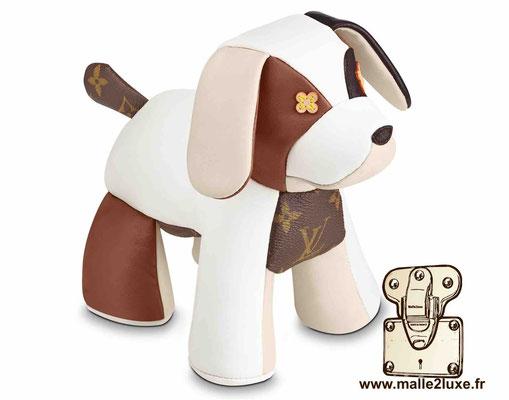 doudou peluche Louis Vuitton chien chiot