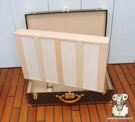 Valise alzer 70 Louis Vuitton vintage casier intérieur