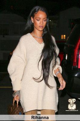 Rihanna super star adore et aime surtout les sac Louis Vuitton