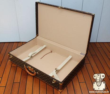 valise de voyage malle Louis Vuitton bisten 80 de 1994