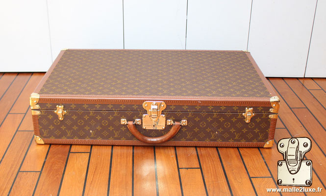 Valise vintage bisten Louis Vuitton 80