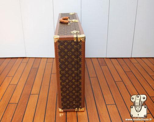 valise de voyage malle Louis Vuitton bisten 80  coté