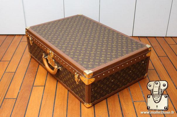 Valise alzer 70 Louis Vuitton vintage coin malle