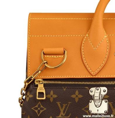 Steamer bag Louis Vuitton detail bandolier M44997