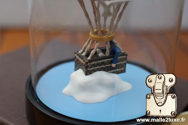 cadeau vip Louis Vuitton boule a neige malle