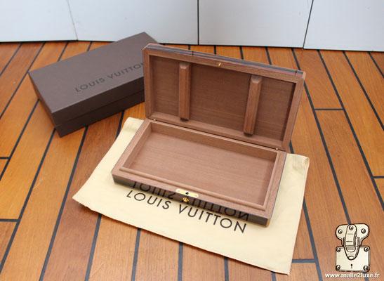 Ecrin de voyage Louis Vuitton placage ebene de Macassar