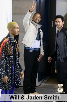 will smith grand fan de Louis Vuitton monogram
