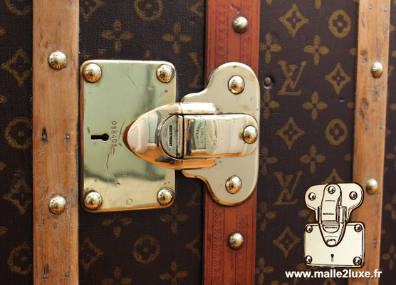 Louis Vuitton patent filing old trunk lock expert wardrobe