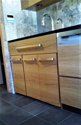 キッチン シンク下の収納 ゴミ箱