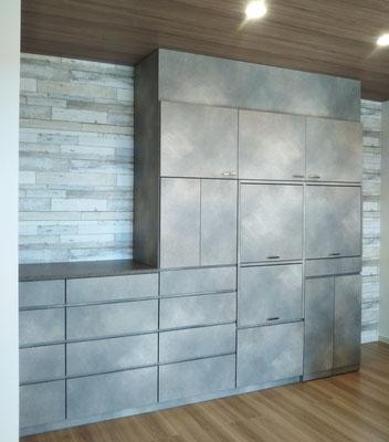 壁面収納 オーダー家具 キッチン収納