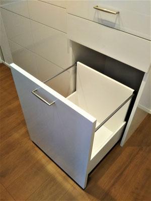 ゴミ箱収納 オーダー家具 壁面収納
