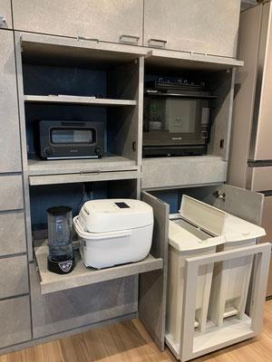 収納扉 整理収納 キッチンボード