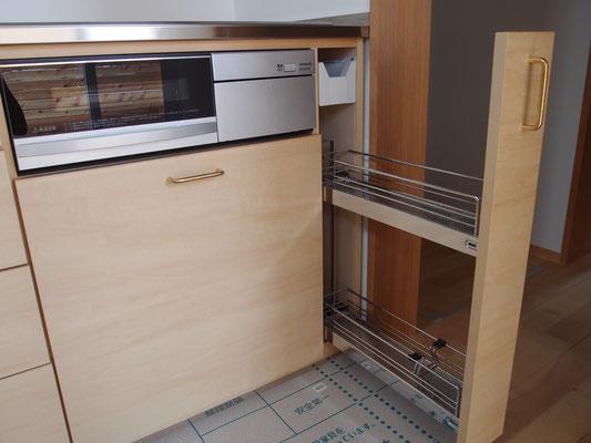 調味料ラック オーダーキッチン 収納家具