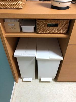 ゴミ箱収納 壁面収納 カップボード