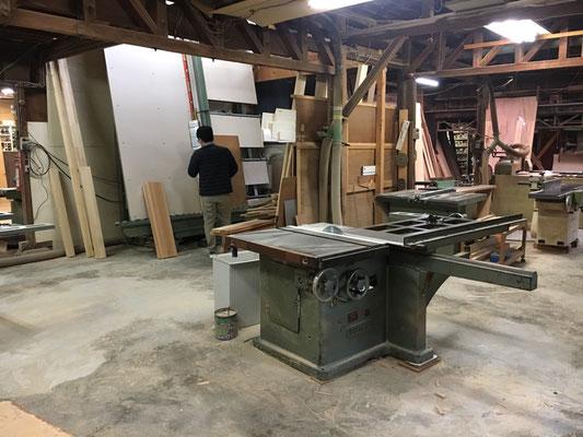 オーダー家具 手造り 製作の様子