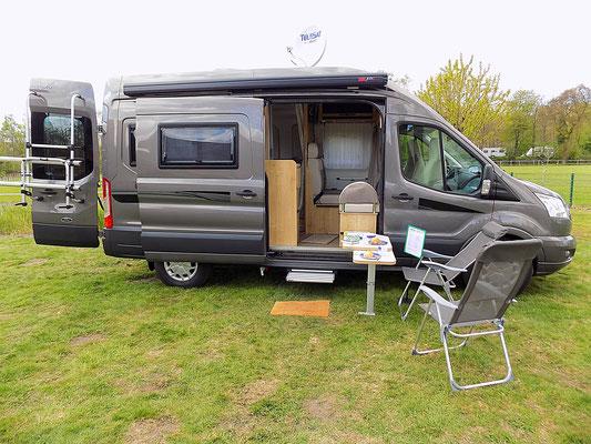 Komfortabler Van für bis zu 5 Personen