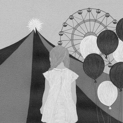 小説すばる 09月号(2016)『圧倒的に愛が足りない』大西智子氏著 挿絵 出版:集英社