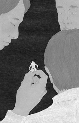 ジャーロ no.64(2018)『シュマシラ』澤村伊智氏著 扉絵 出版:光文社