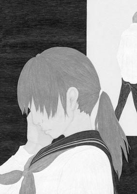 『きらら』 12月号(2018)「砕けて沈む」第6話 雛倉さりえ氏著 挿絵 出版:小学館