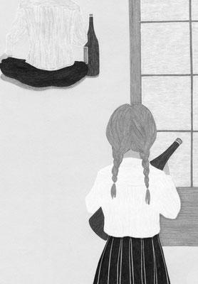 小説新潮 02月号(2019)『愛で放す・前編』一木けい氏著 挿絵 出版:新潮社