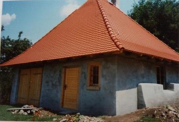 Backhaus während der Renovierung 1998