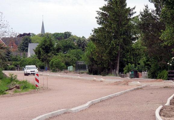 Blick in Richtung Oebisfelde