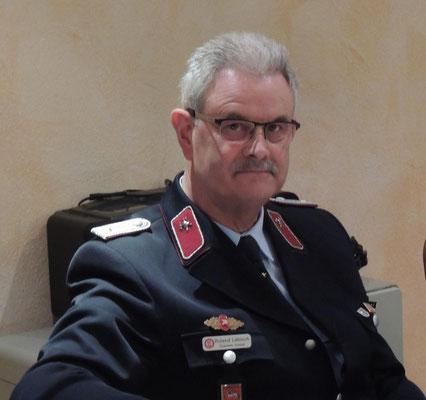 Roland Läbisch, Mitglied der Stadtwehrleitung