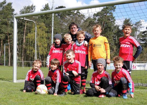 Die Zweitplatzierten vom 1.FC Oebisfelde
