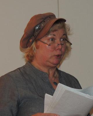 Gudrun Krawitz berichtete von einer Schweinerei, im wahrsten Sinne des Wortes...