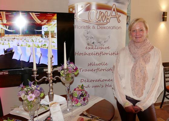 Für alles rund um die Blume steht Kathleen Mantwits mit Rat und Tat zur Verfügung