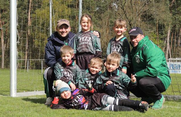 Die jungen Kicker von der JSG Bregenstedt/Erxleben/Eimersleben belegten den vierten Platz