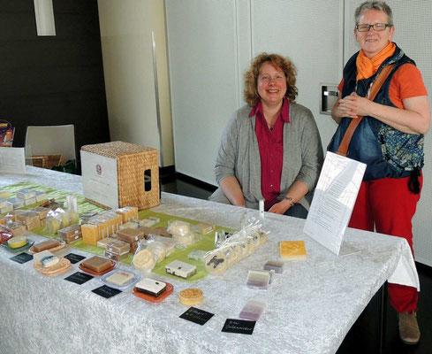 Britta Tischmacher, Naturseife aus Behnsdorf