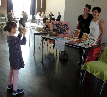 Da lässt man gern einmal ein Erinnerungsfoto knipsen, Yogaschule Flechtingen