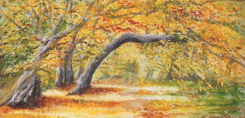 Anne Perschlow / Im Herbst entschwunden