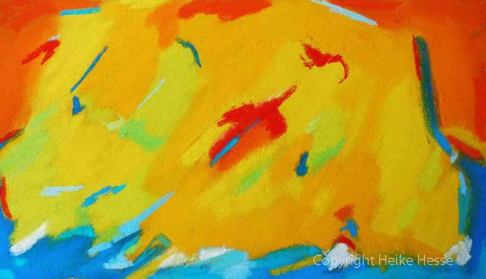 Freude am Leben, Pastell / Heike Hesse