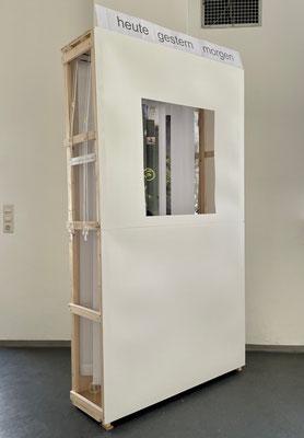 Heute Gestern Morgen / Jalousien-Installation von Christel Jax