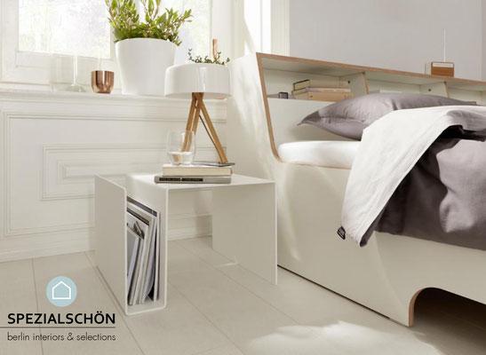Multifunktionsmöbel, Tisch, Hocker, Nachttisch, Hängeregister, Regal, Stehpult, Tischpult