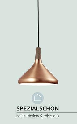 Kupfer Leuchte, Skandinavisch