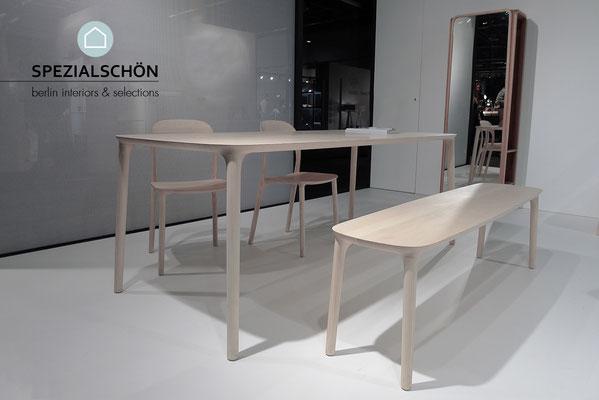 Organic Table, Spezialschön, Design Tisch, Massivholz, Esche, Eiche, Walnuss, Esstisch, Konferenztisch, Mid Century, 60er Jahre, Teak