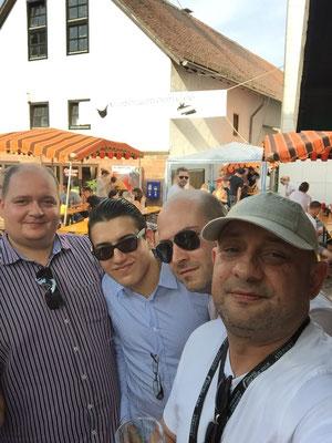 mit Wauwau Adler, Joel Locher, Sandro Roy