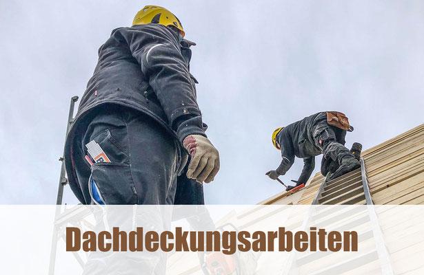 Dachdeckungsarbeiten
