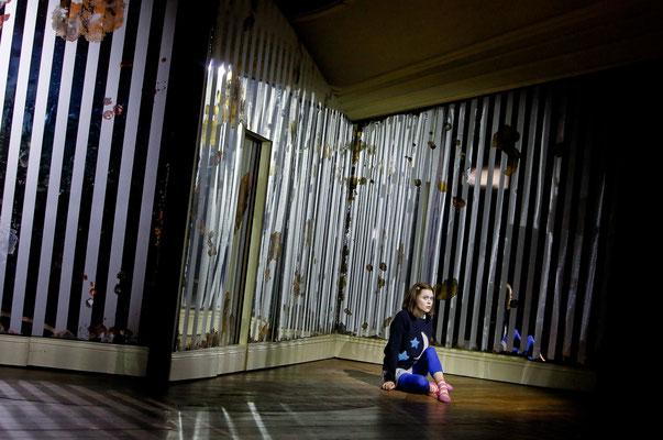 """Coraline"" am Theater Freiburg - Coraline (C) Birgit Hupfeld"