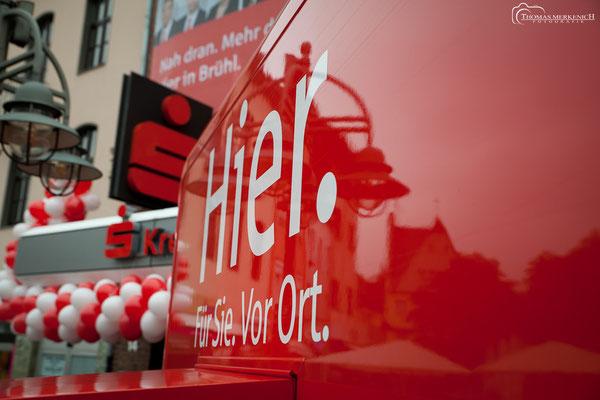 Eventfotografie für die Kreissparkasse Köln, anlässlich der Vorstellung neuer mobiler Filialen