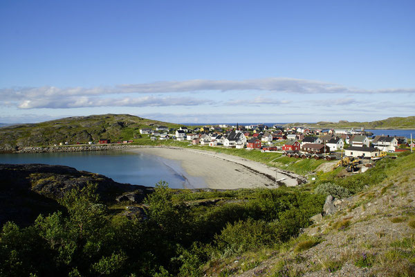 Bugöynes am Varangerfjorden