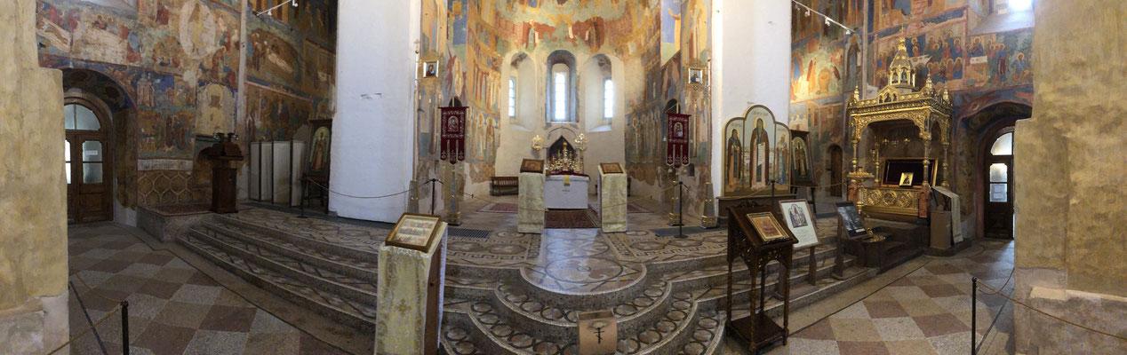 restaurierte Kathedrale in Susdal