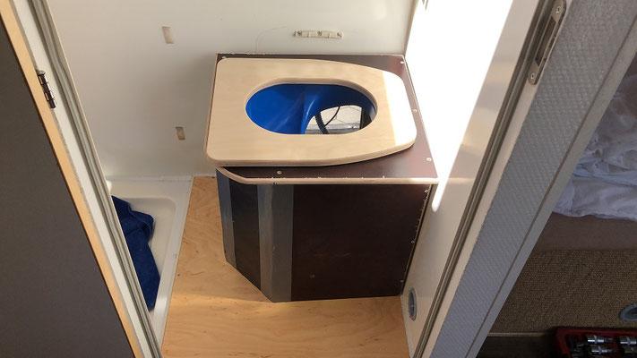 Testaufbau von Trenn WC