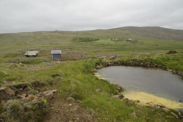 Hotpot ohne Wasser