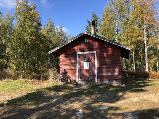 Skihütte frei zugänglich